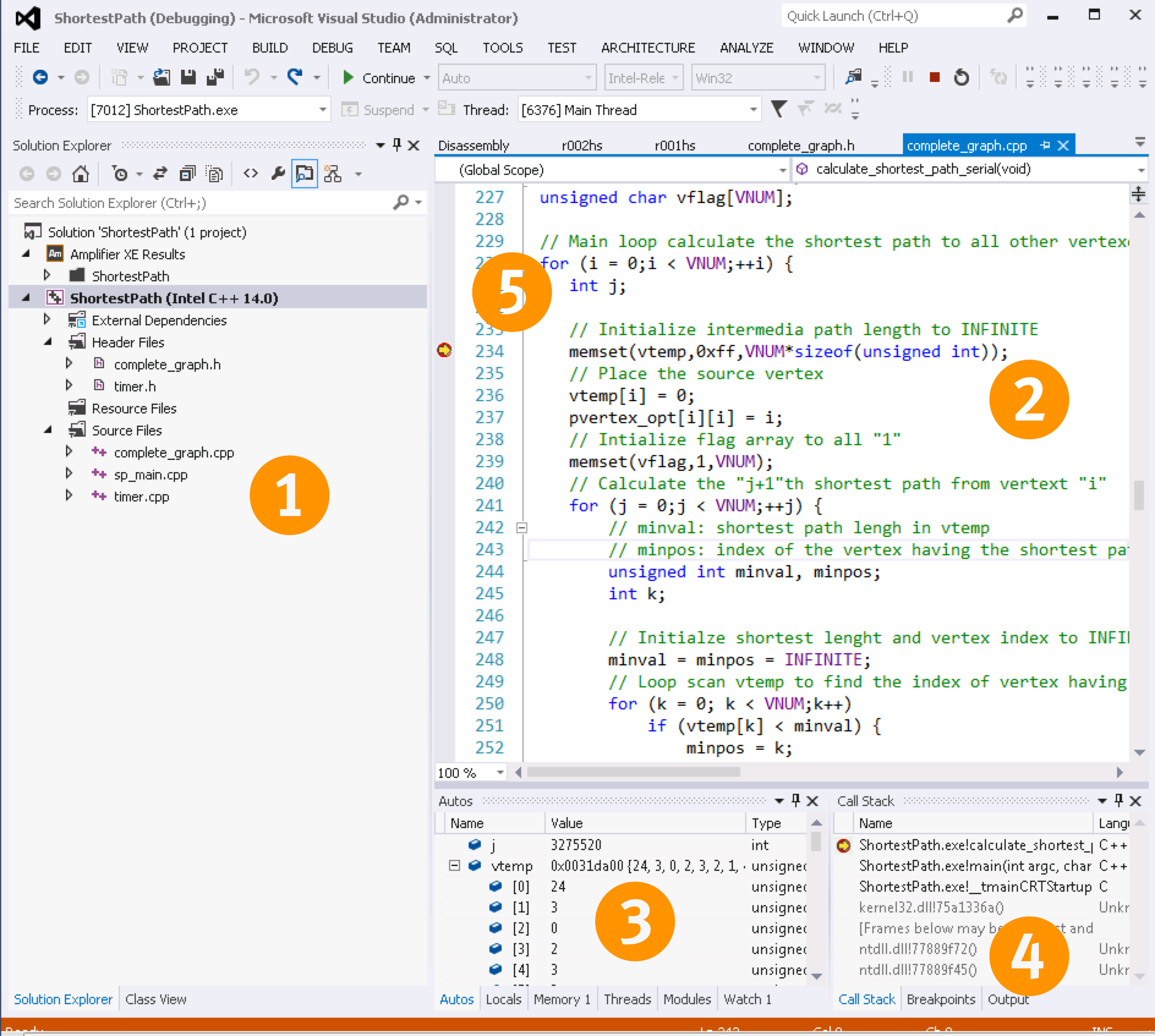 cpp compiler visualstudio integration
